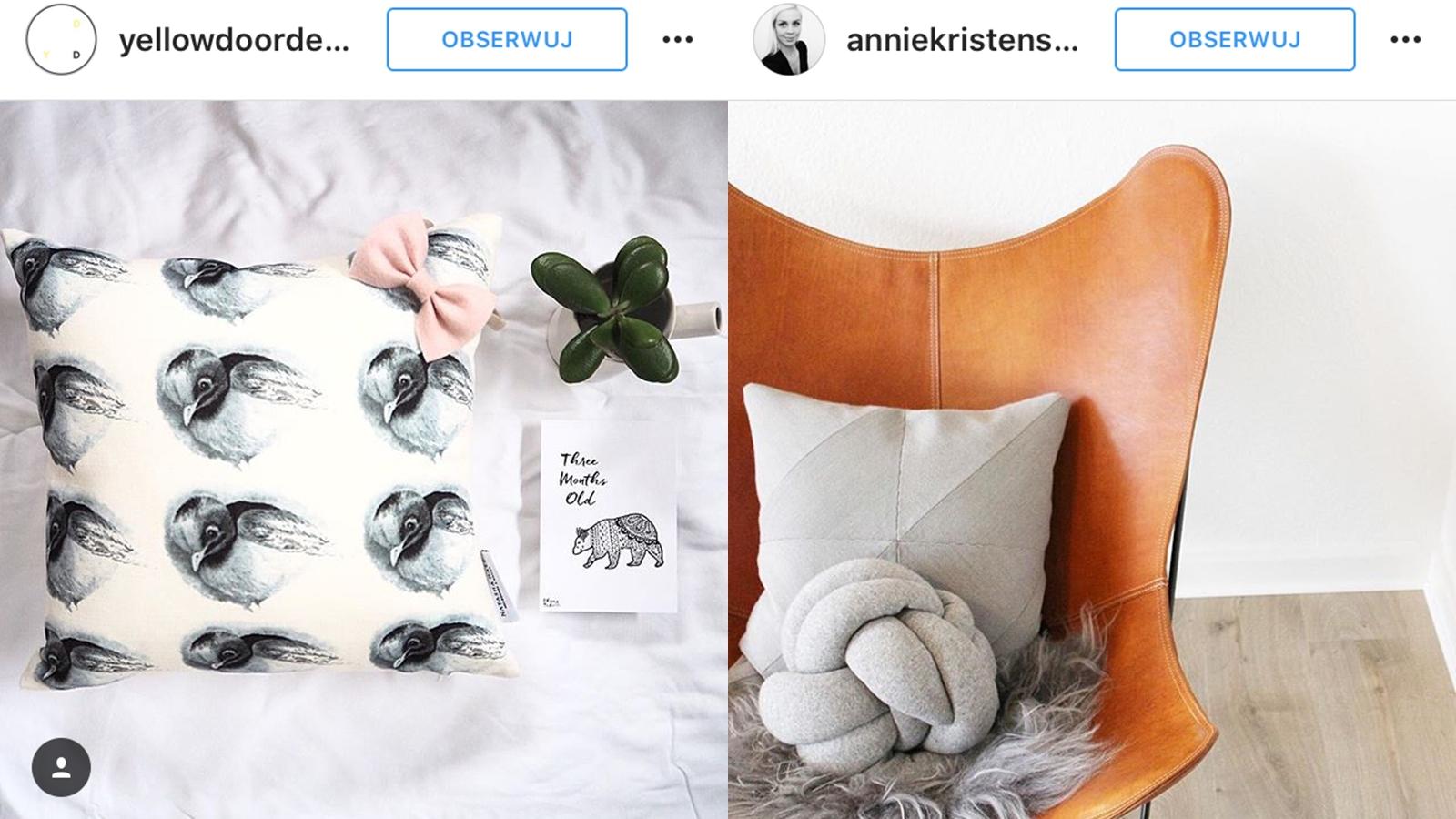 ozdobne poduszki zdjęcia