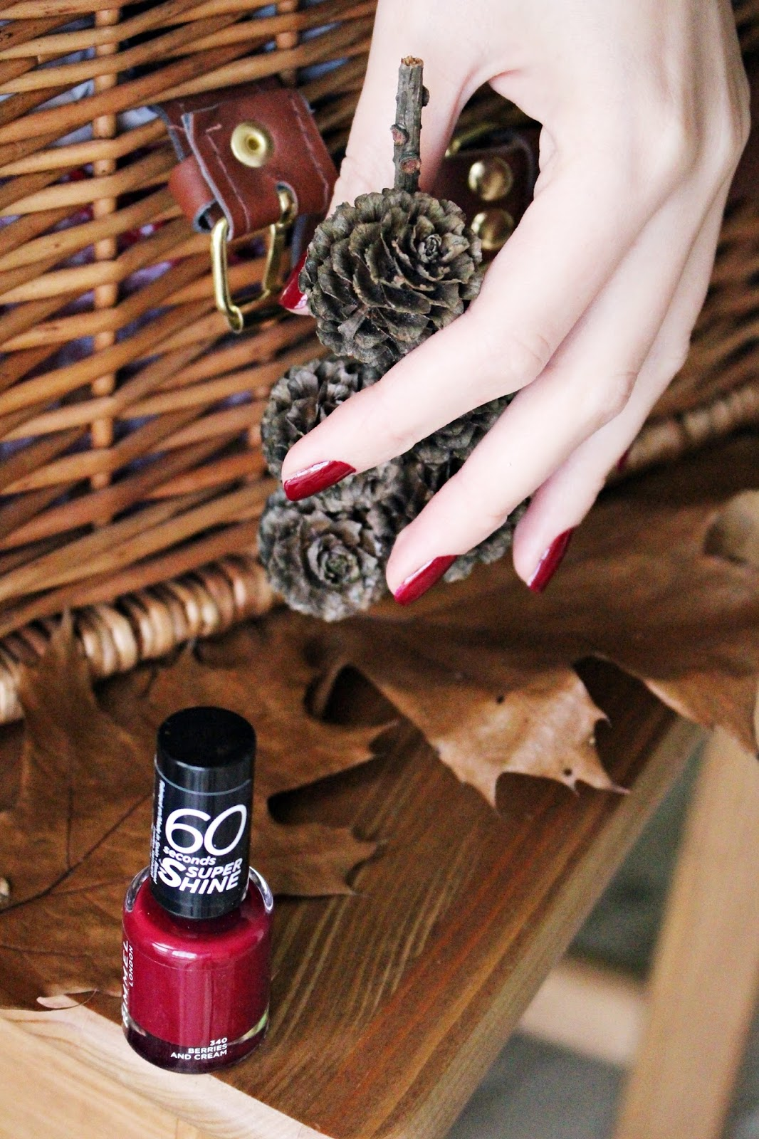 Rimmel London 60 Seconds Super Shine, 340 Berries and Cream