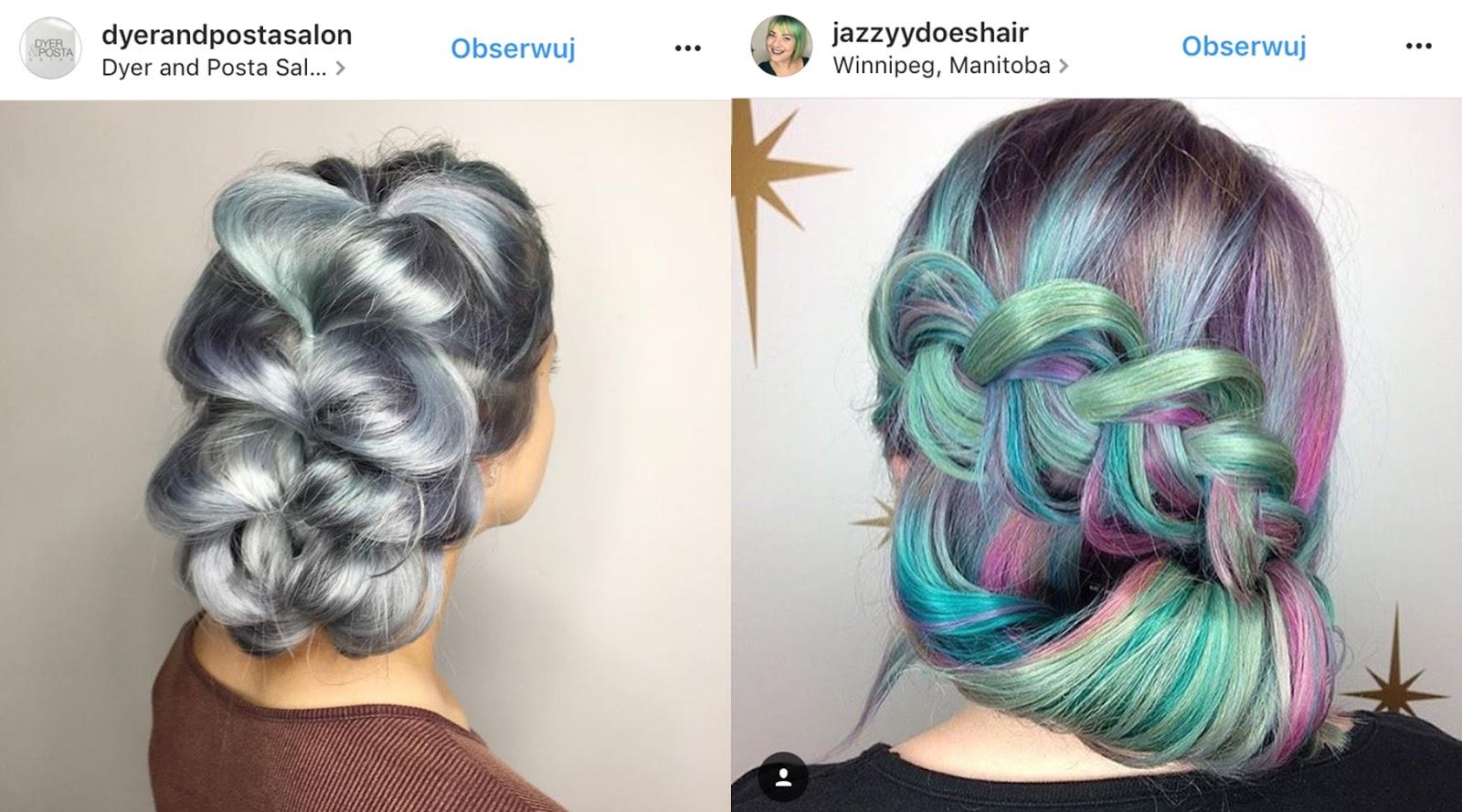 szara farba do włosów