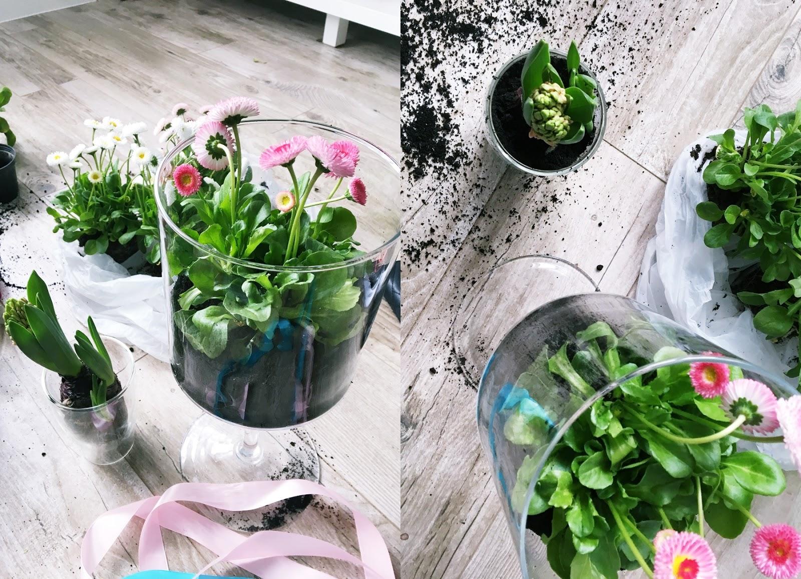 dekoracje wiosenne DIY