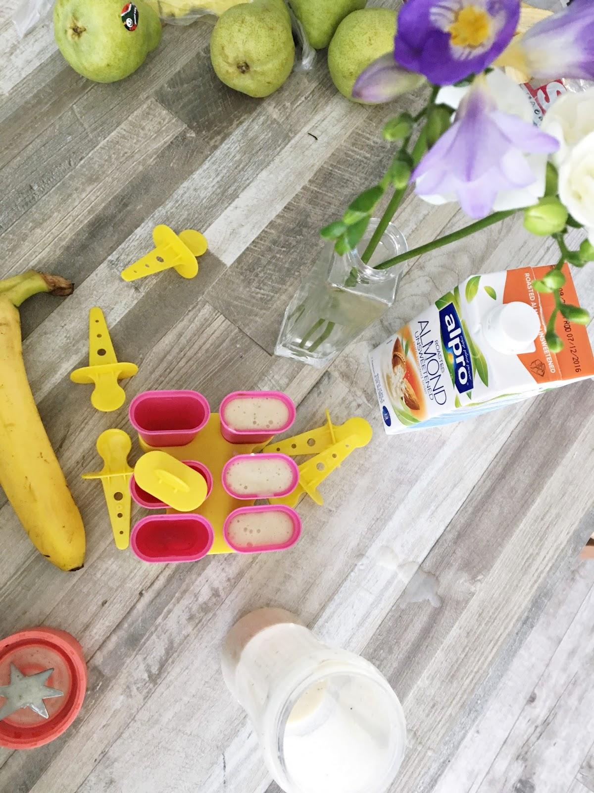 przepis na lody banonowe