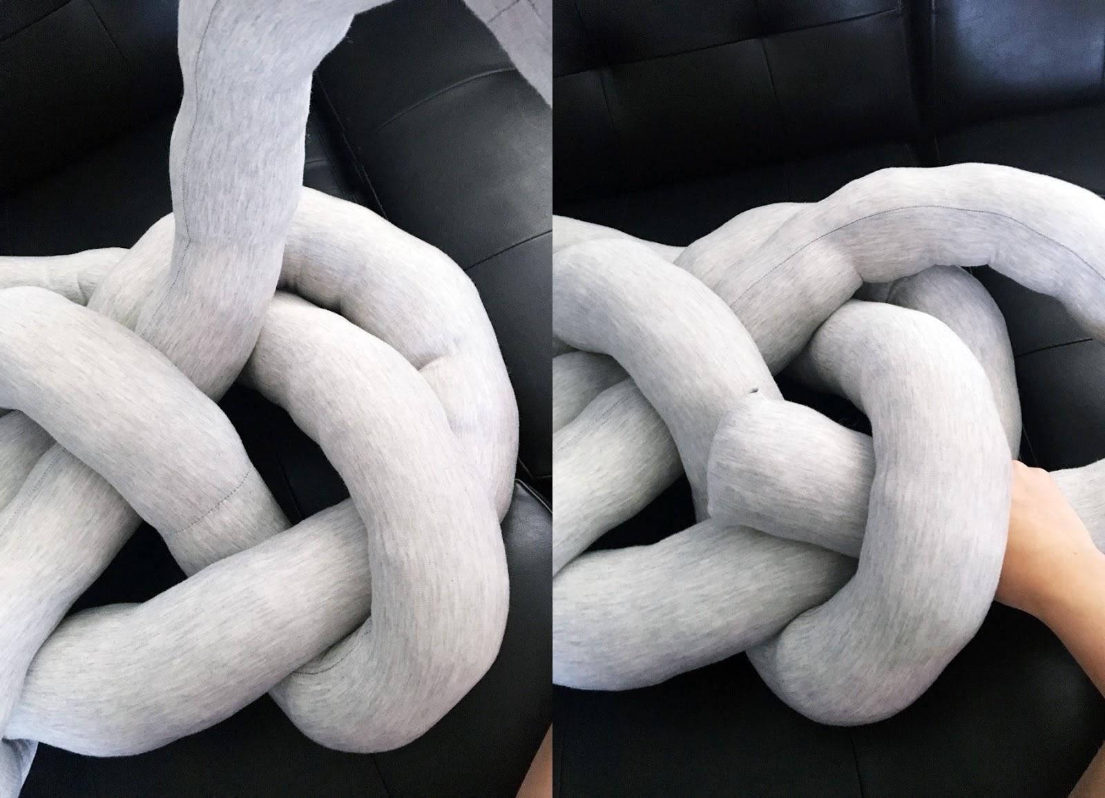jak zrobić poduszkę węzeł