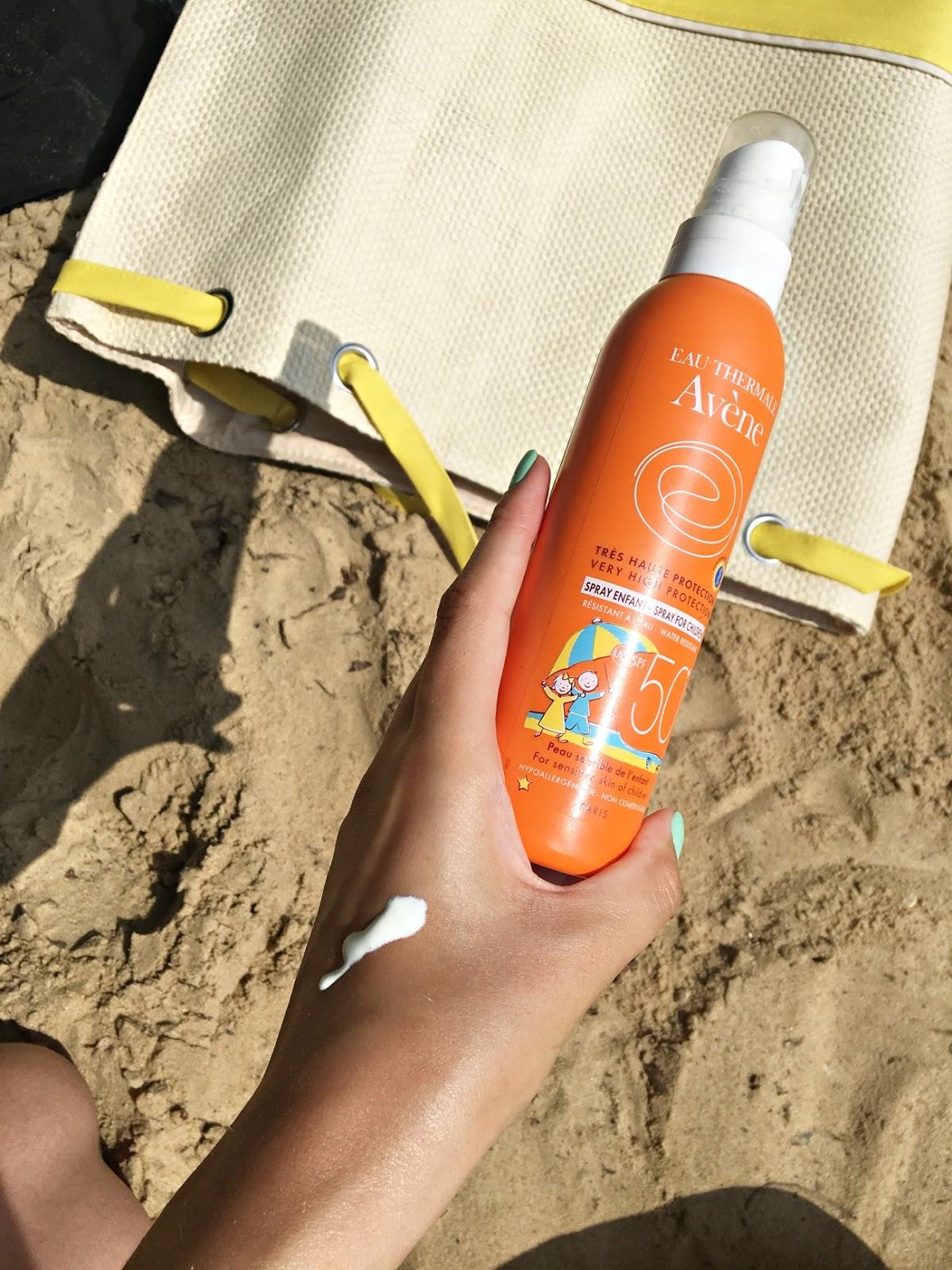 Avene Spray Dla Dzieci Z Bardzo Wysoką Ochroną Przeciwsłoneczną Spf50+