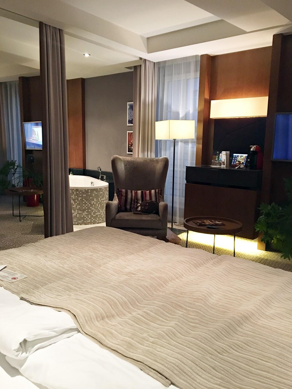 Grand Hotel Boutique pokój deluxe