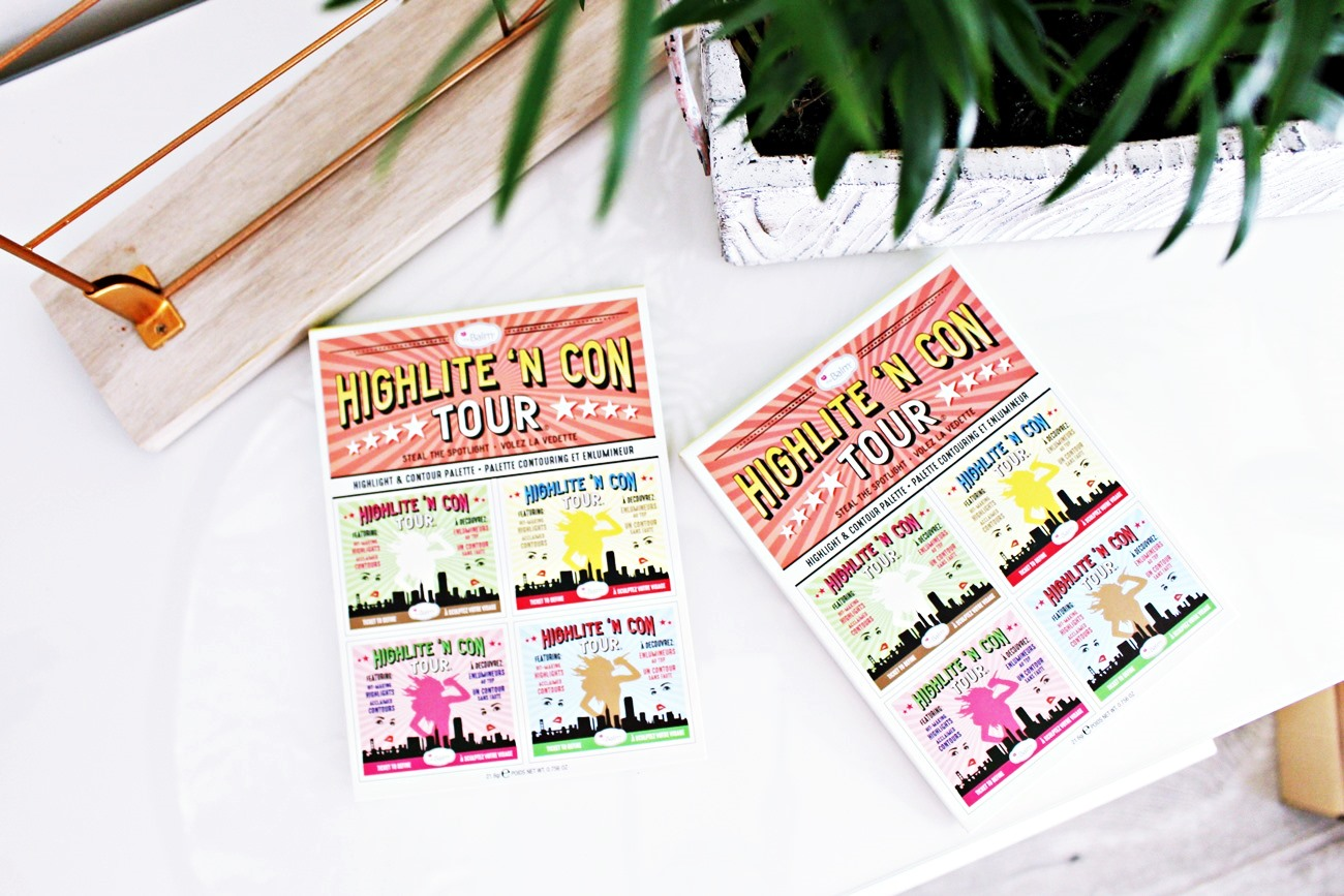 The Balm Highliten Con Tour Highlight & Contour Palette paleta do konturowania