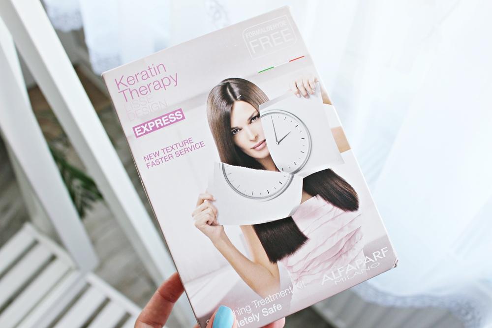 karatynowe prostowanie włosów keratin therapy lisse design express Alfaparf