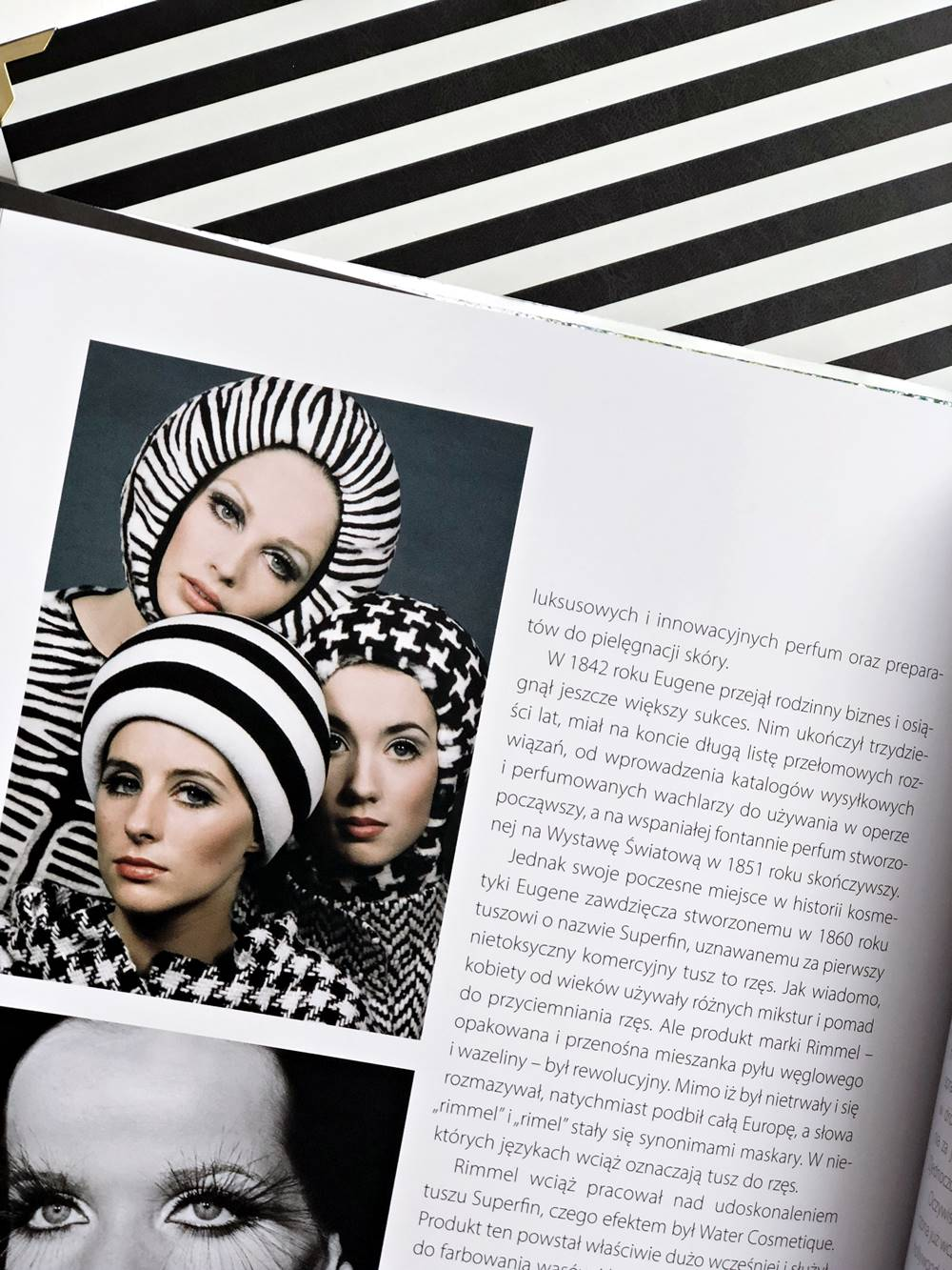 Face Paint, Historia makijażu, Lisa Eldrige