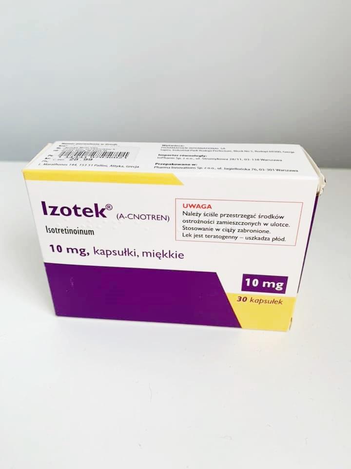 tabletki izotek efekty
