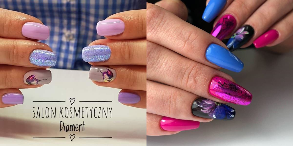 wzory paznokcie