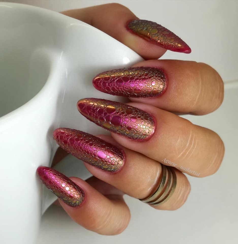 bąbelkowe paznokcie jak zrobić