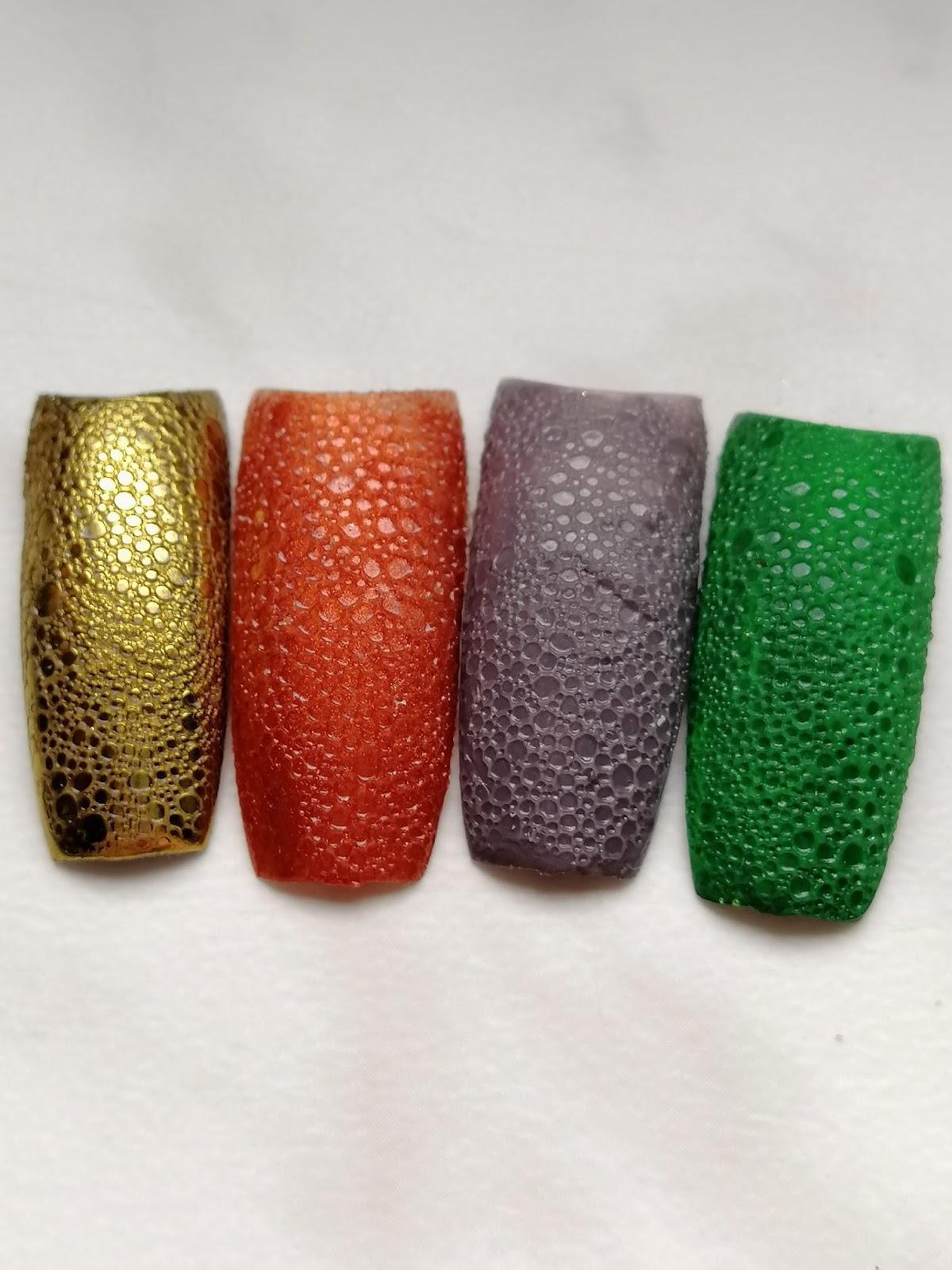 bubble nails jak zrobić