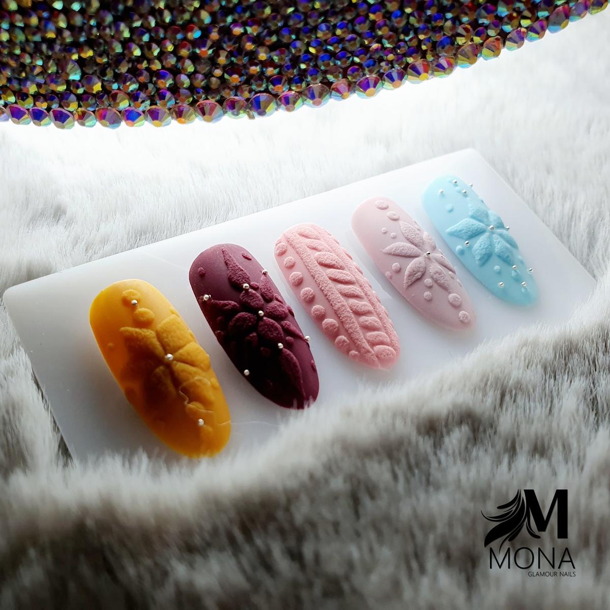 pomysły na sweterek na paznokciach