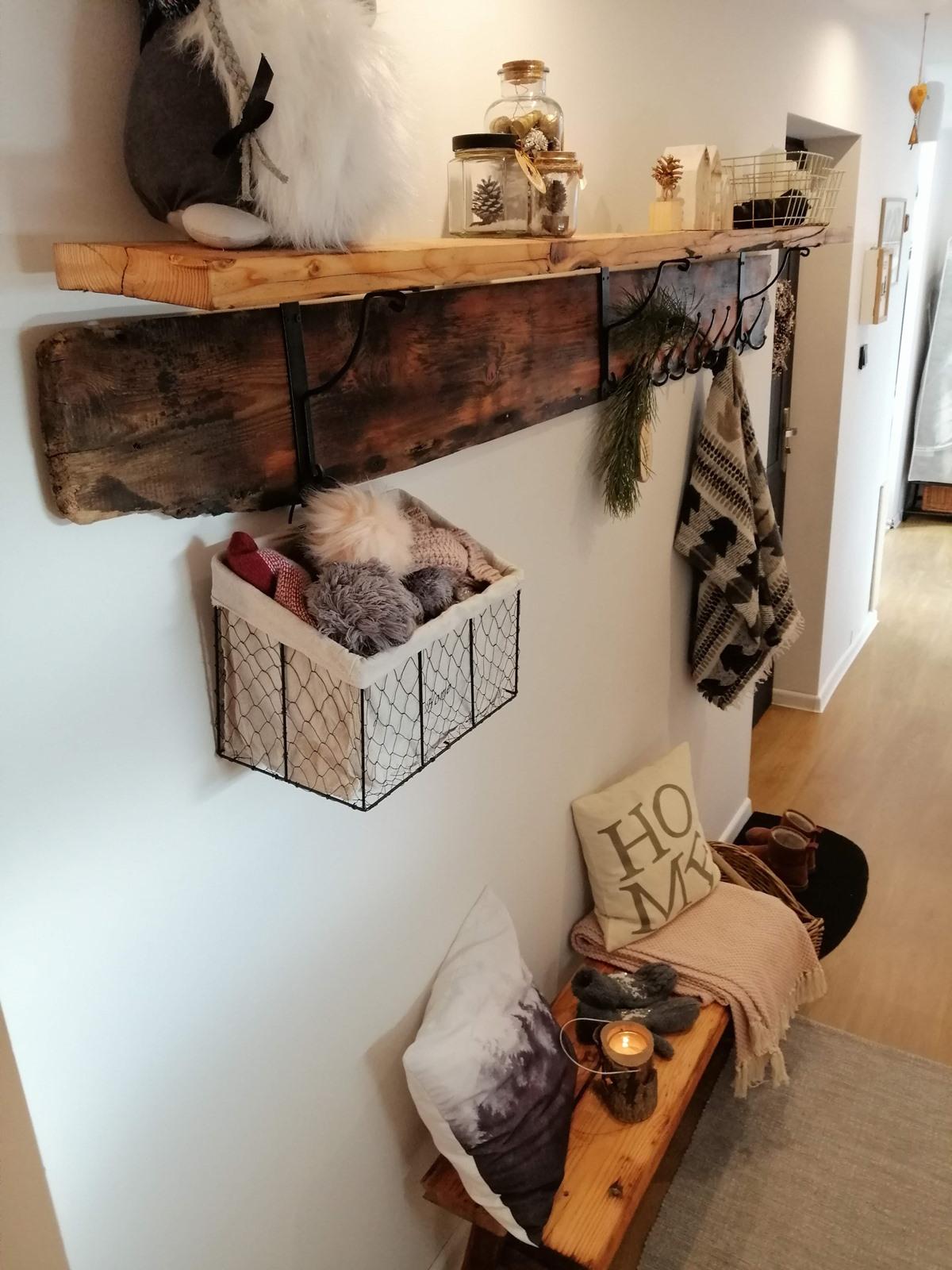drewniana ławeczka diy