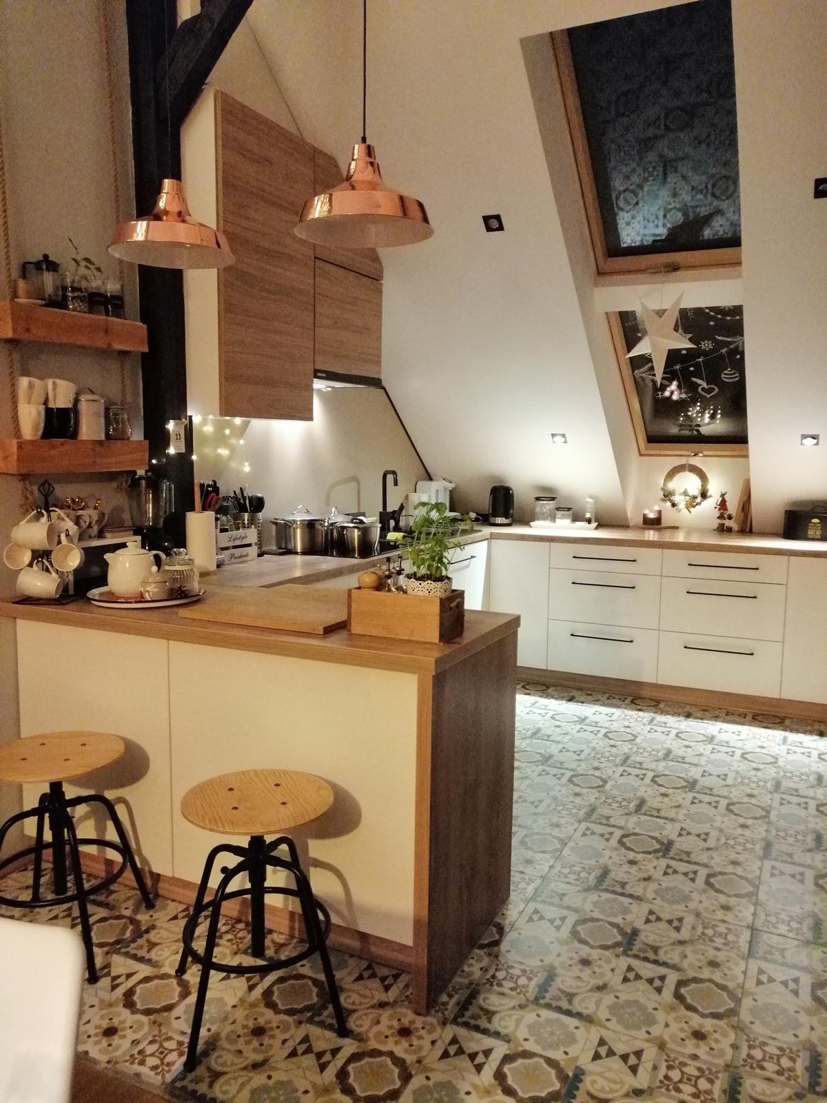 drewniana kuchnia zdjęcia