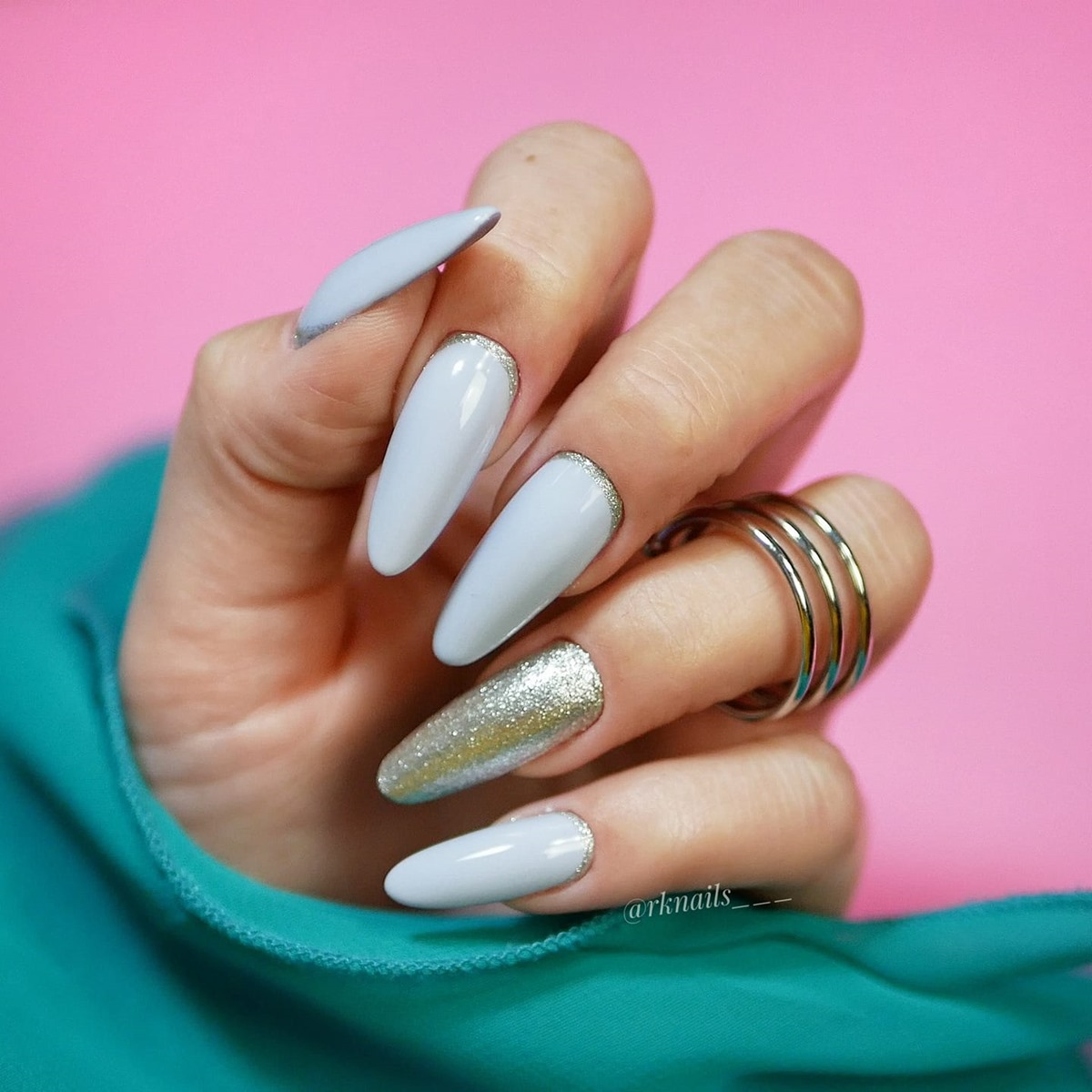 piękne paznokcie