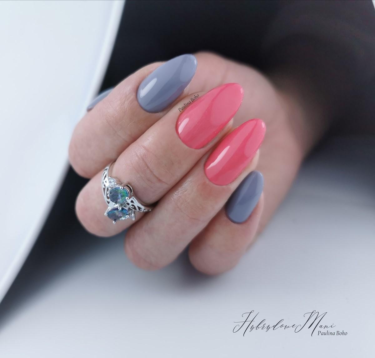 różowe paznokcie zdjęcia
