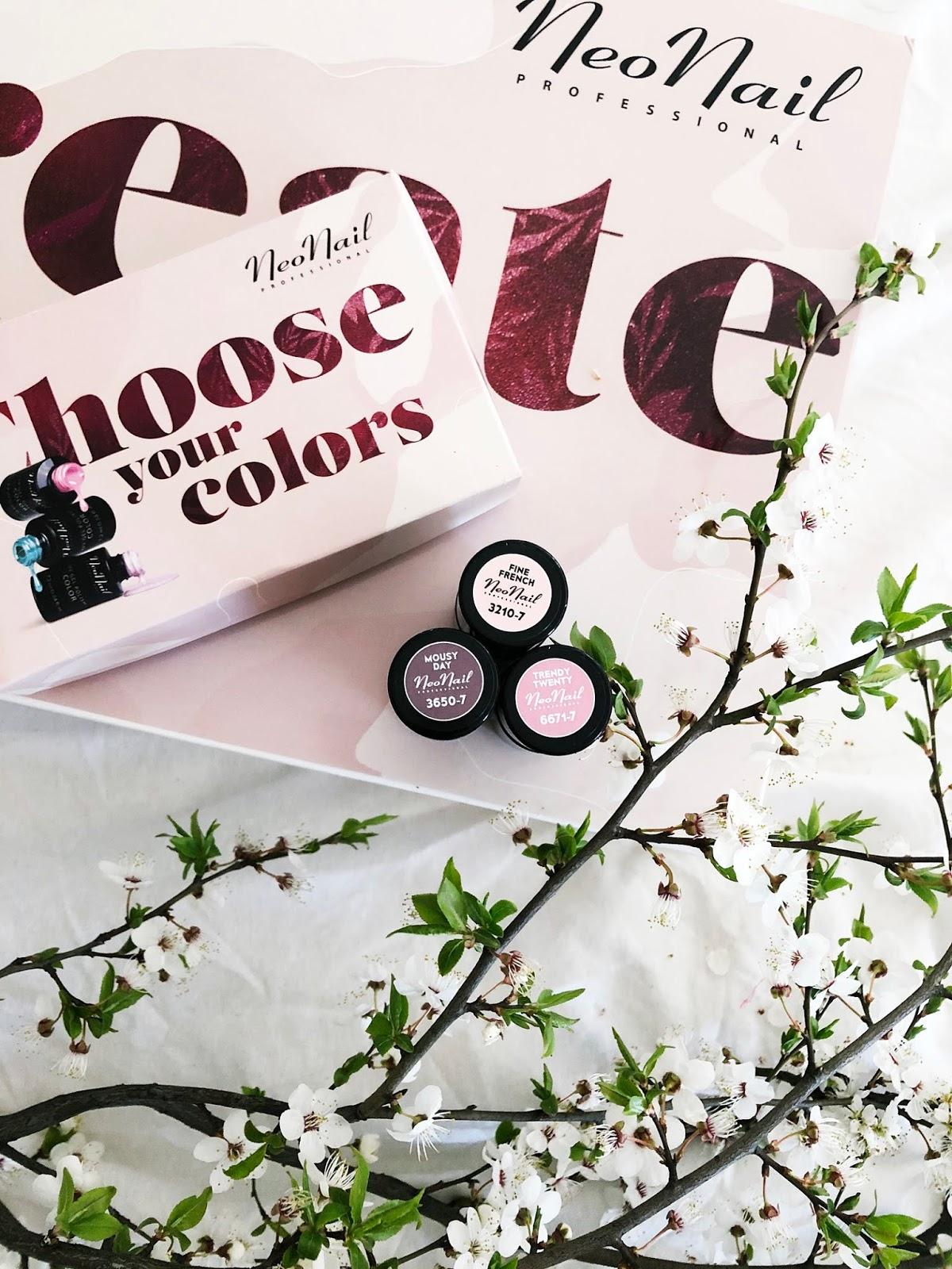 kolory lakierów hybrydowych na wiosnę