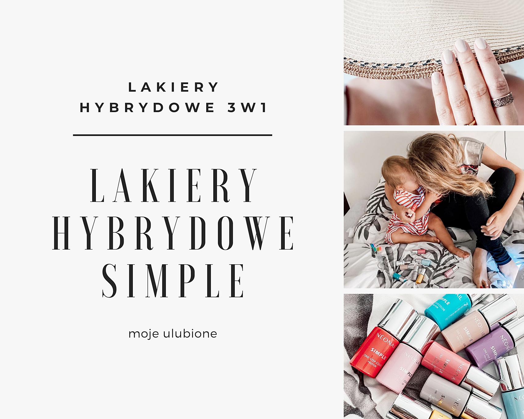 lakiery hybrydowe simple