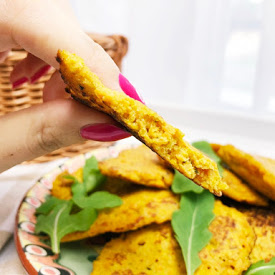 placuszki z marchewki